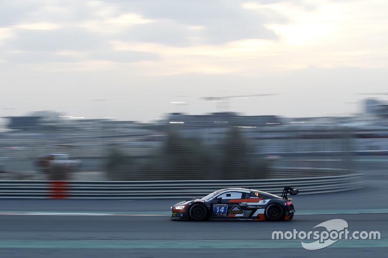 #14 Optimum Motorsport Audi R8 LMS: Joe Osborne, Flick Haigh, Ryan Ratcliffe, Christopher Haase
