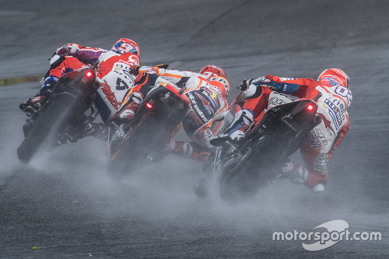 Даніло Петруччі, Pramac Racing, Марк Маркес, Repsol Honda Team, Андреа Довіціозо, Ducati Team
