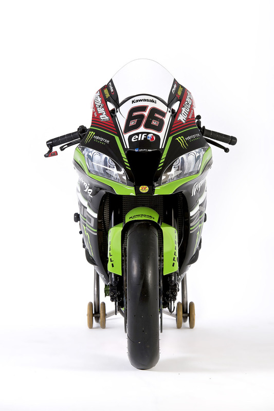La moto de Tom Sykes, Kawasaki Racing, Ninja ZX-10RR