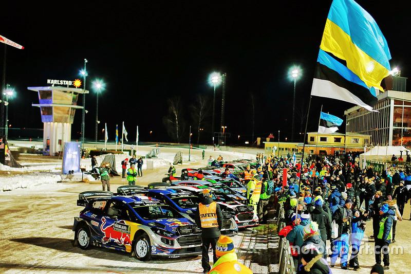 Impressionen von der Rallye Schweden