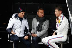 Jens Marquardt, BMW-Sportchef, mit Marco Wittmann, BMW Team RMG