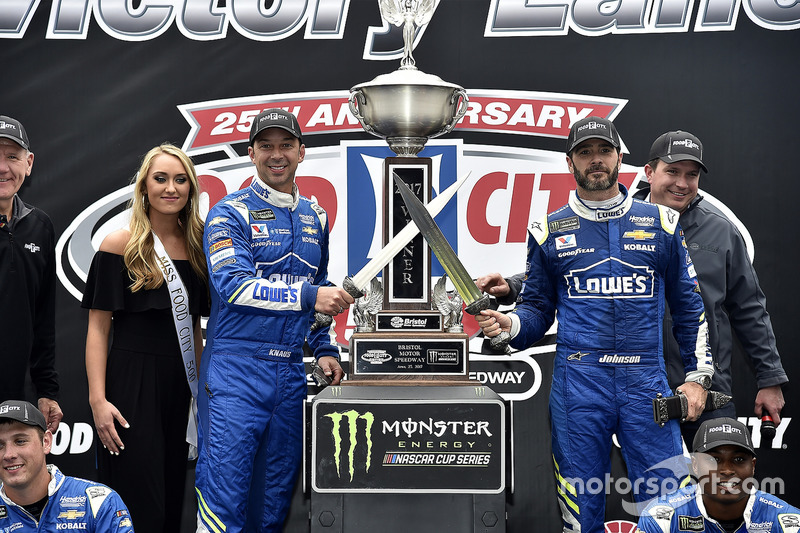 Bristol (Tennessee): Jimmie Johnson (Hendrick-Chevrolet)