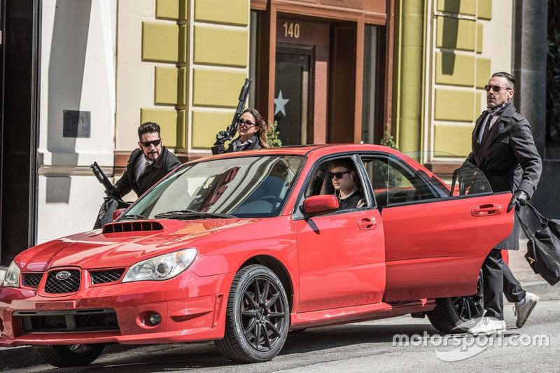 Subaru WRX з фільму