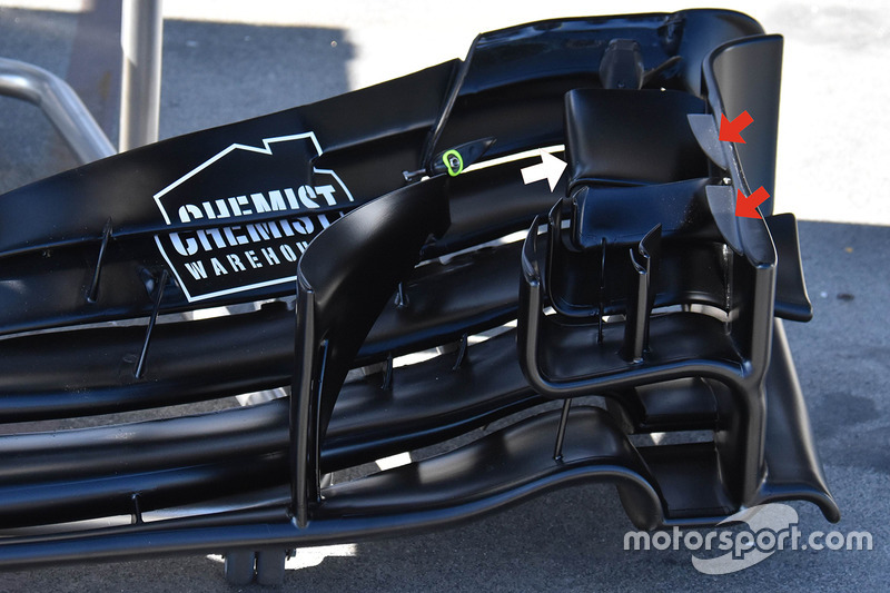 Aileron avant de la Williams FW40