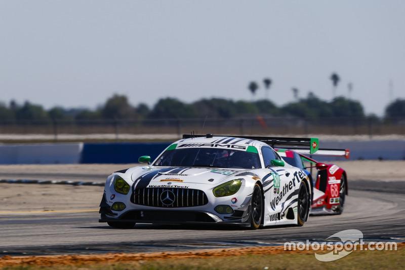 #50 Riley Motorsports, Mercedes AMG GT3: Gunnar Jeannette, Cooper MacNeil, Shane van Gisbergen