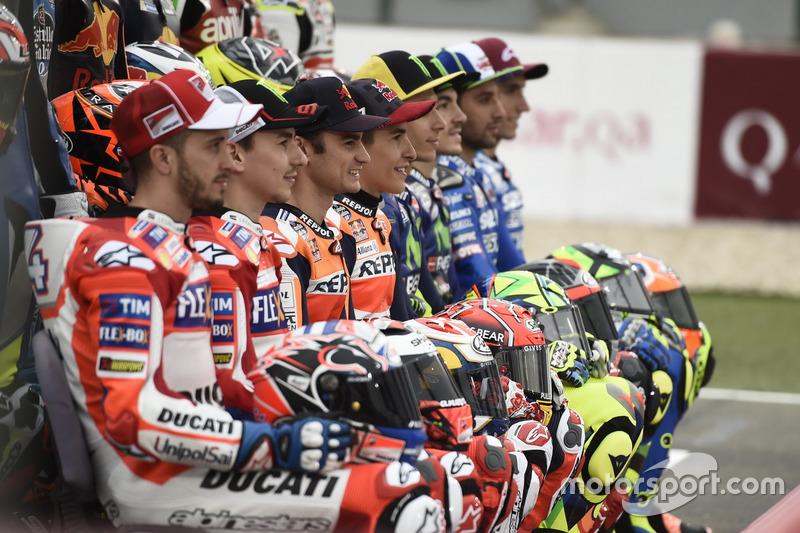 Гонщики MotoGP 2017 року