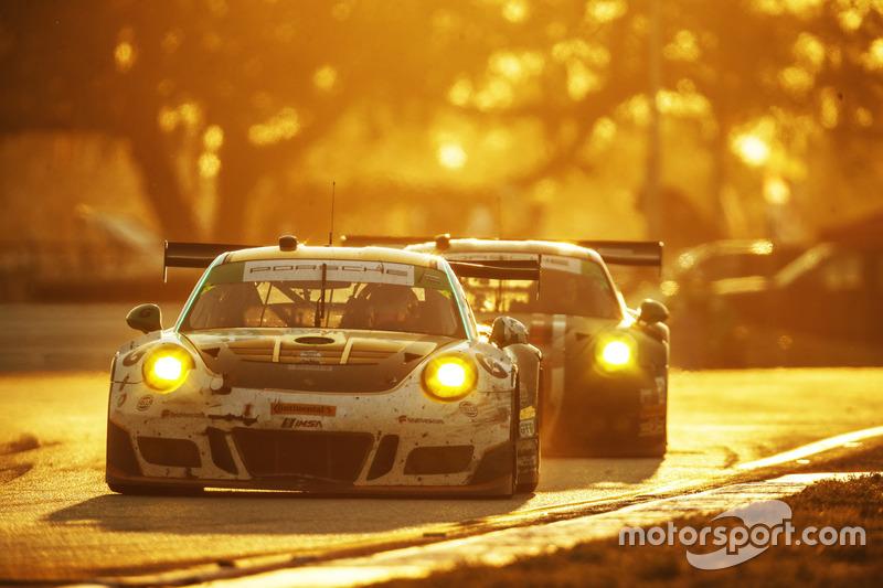 #28 Alegra Motorsports Porsche 911 GT3 R: Daniel Morad, Michael de Quesada, Michael Christensen, Spe