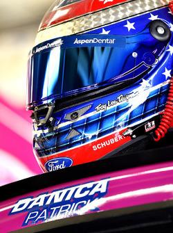 Danica Patrick, Stewart-Haas Racing Ford helmet