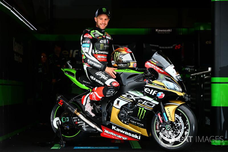 Jonathan Rea, Kawasaki Racing con una moto de oro