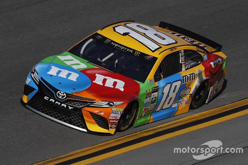 #18: Kyle Busch, Joe Gibbs Racing, Toyota