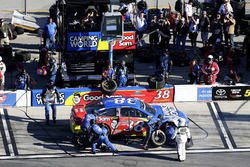 Pit stop, David Ragan, Front Row Motorsports Ford