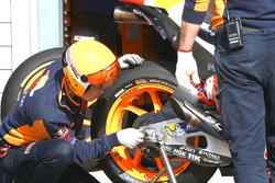 Llanta de Marc Márquez, Repsol Honda Team