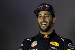 Daniel Ricciardo, Red Bull Racing in the Press Conference