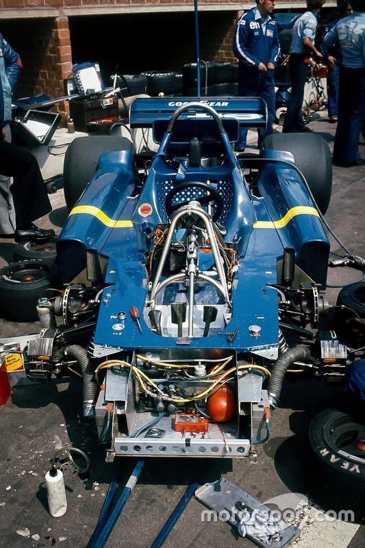 Châssis de la Tyrrell P34-Ford