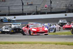 #76 TA3 Chevrolet Corvette, Preston Calvert, Phoenix Performance, #07 TA4 Ford Mustang, Brian Kleeman, DWW Motorsports