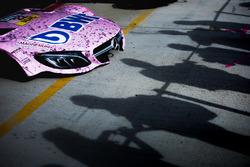 Капот машины Лукаса Ауэра, Mercedes-AMG Team HWA, Mercedes-AMG C63 DTM