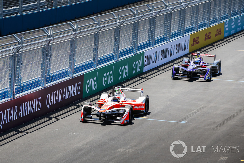Felix Rosenqvist, Mahindra Racing y Sam Bird, DS Virgin Racing