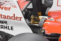 Ferrari SF70H: i nuovi convogliatori di flusso in coda alle pance