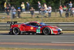 #51 AF Corse Ferrari 488 GTE : James Calado, Alessandro Pier Guidi, Michele Rugolo