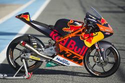 La moto de Bo Bendsneyder, Red Bull KTM Ajo