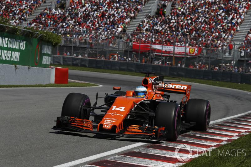 Двигатель Honda не позволял Фернандо Алонсо что-либо противопоставить соперникам на прямых.