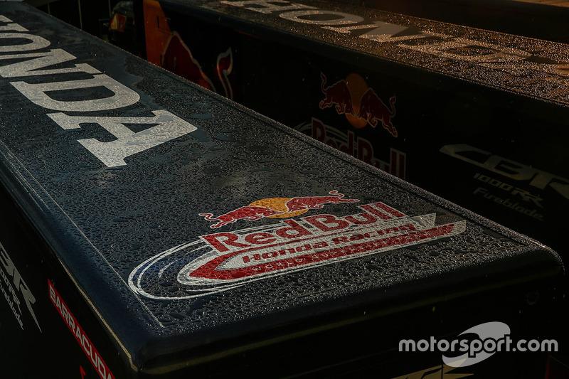 Camión de Red Bull Honda