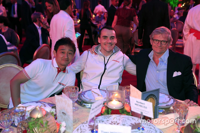 Ryo Michigami, Norbert Michelisz, Honda Racing Team JAS, Honda Civic WTCC with Alessandro Mariani,