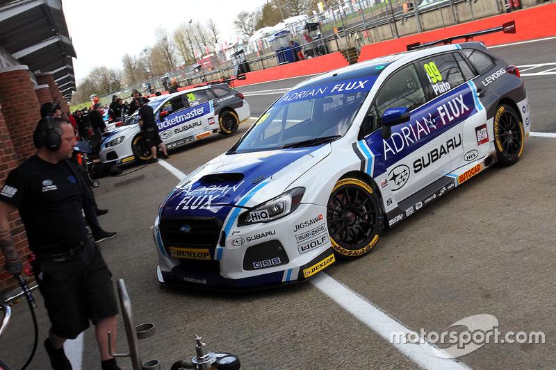 Jason Plato, Team BMR, Subaru Levorg
