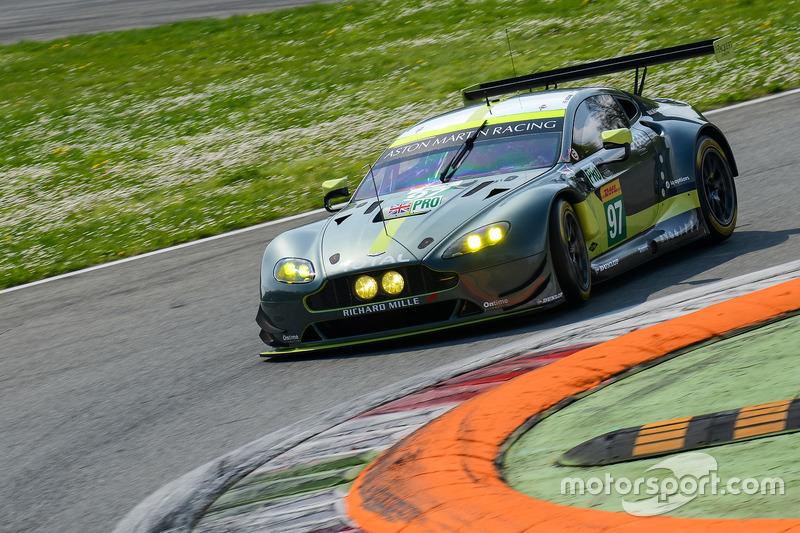 #97 Aston Martin Racing Aston Martin Vantage: Darren Turner, Jonathan Adam