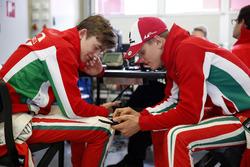 Callum Ilott, Prema Powerteam, Dallara F317 - Mercedes-Benz und Mick Schumacher, Prema Powerteam, Da
