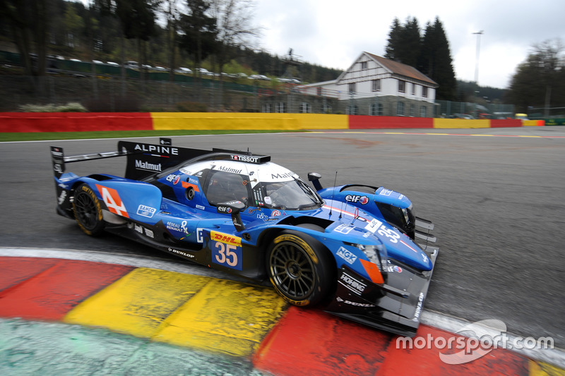 #35 Signatech Alpine A470 Gibson: Pierre Ragues, André Negrao, Nelson Panciatici