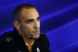 FIA-Pressekonferenz: Cyril Abiteboul, Geschäftsführer, Renault Sport F1 Team