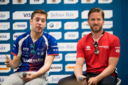 Press Conference:  Robin Frijns, Amlin Andretti Formula E Team,  Nick Heidfeld, Mahindra Racing