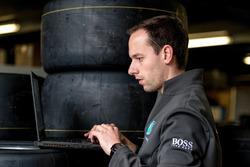 Fabien Chenin, Mercedes-AMG Motorsport DTM, Ingeniero de neumáticos