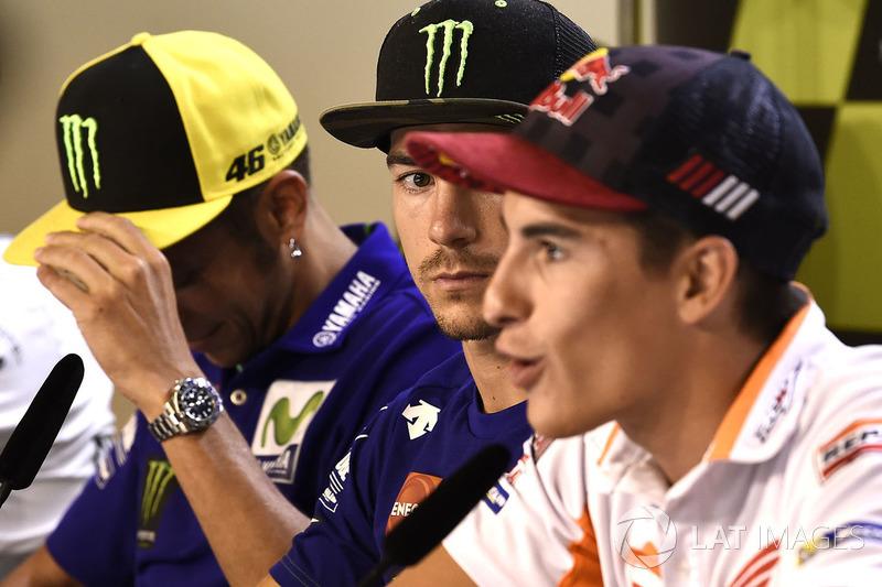 Marc Marquez dan Maverick Vinales