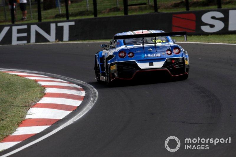 15. #35 KCMG Nissan GT-R Nismo GT3: Katsumasa Chiyo, Matsuda Tsugio, Joshua Burdon