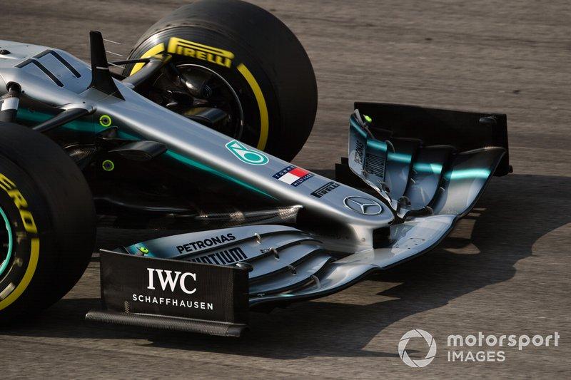 Mercedes-AMG F1 W10 EQ Power+ burun detay