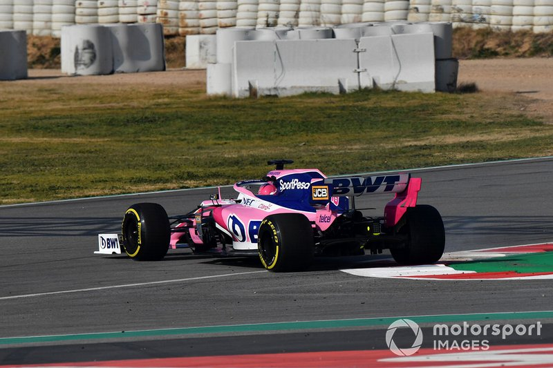 Spin van Lance Stroll, Racing Point F1 Team RP19