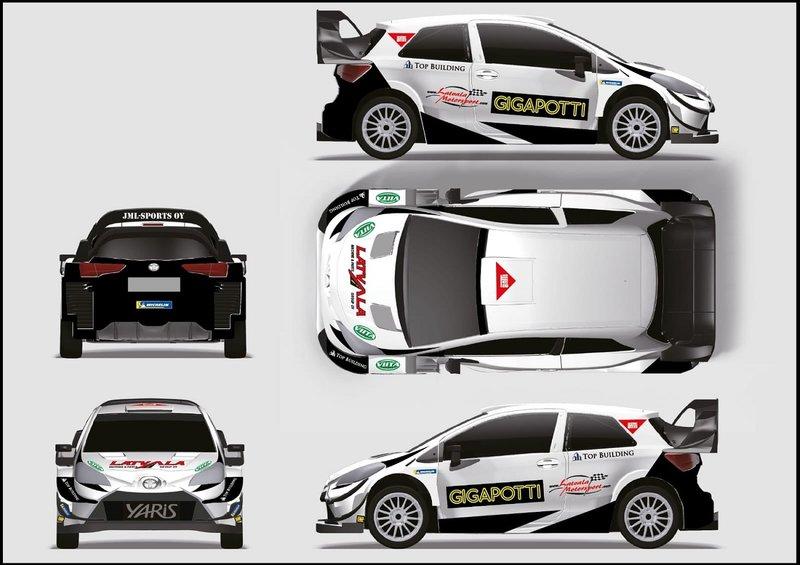 Test in preparazione del WRC 2020