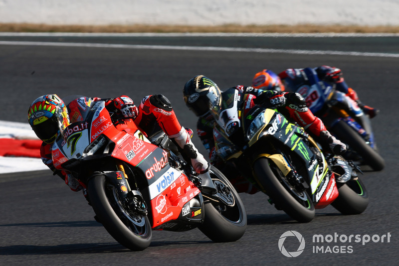 Chaz Davies, Aruba.it Racing-Ducati SBK Team, Jonathan Rea, Kawasaki Racing