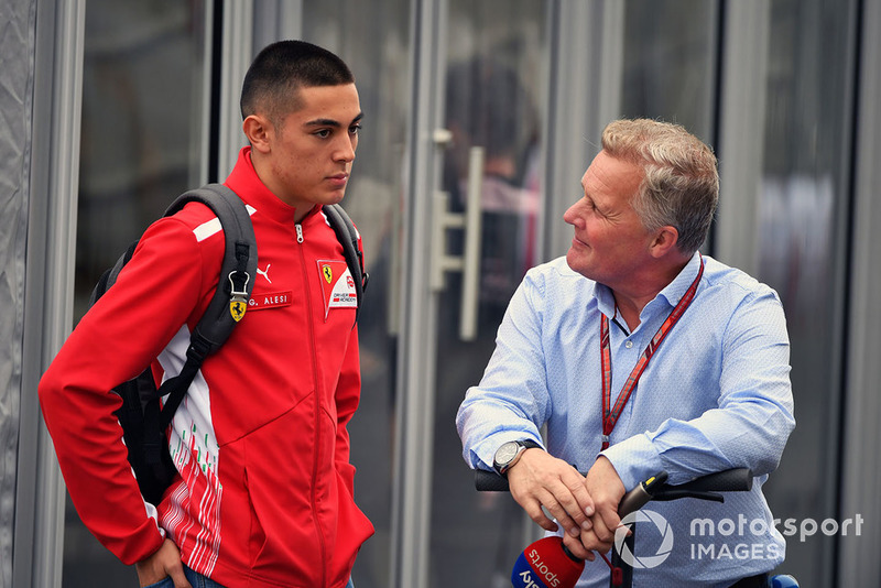 Johnny Herbert, Sky TV, Giuliano Alesi, Trident GP3