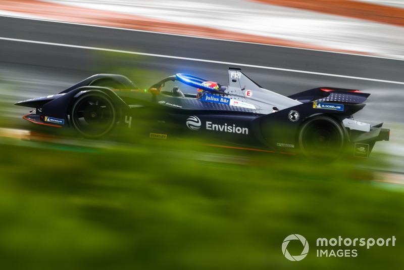Робін Фряйнс, Envision Virgin Racing, Audi e-tron FE05 з підсвіткою на системі Halo