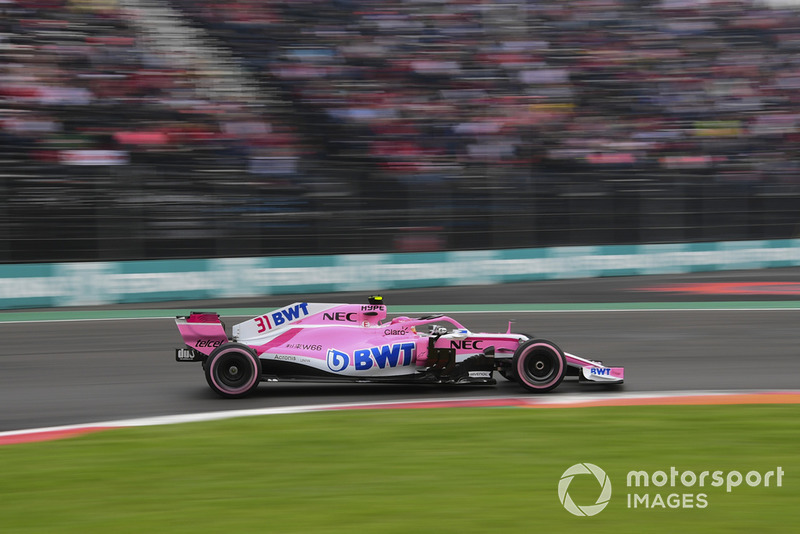 11: Эстебан Окон, Racing Point Force India VJM11, 1:16.844