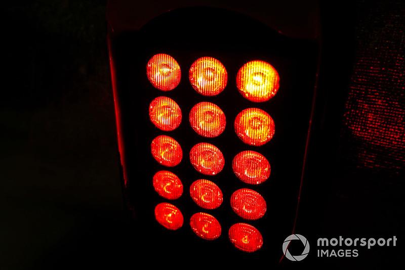 Червоний сигнал на боліді