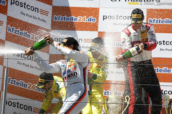 Podium: #24 BWT Mücke Motorsport Audi R8 LMS: Mike David Ortmann, Markus Winkelhock, #33 Team ISR Audi R8 LMS: Filip Salaquarda, Frank Stippler