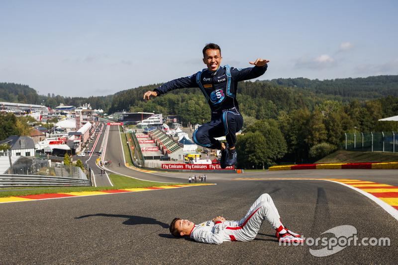 Les vainqueurs du Hungaroring, Alexander Albon et Nyck de Vries