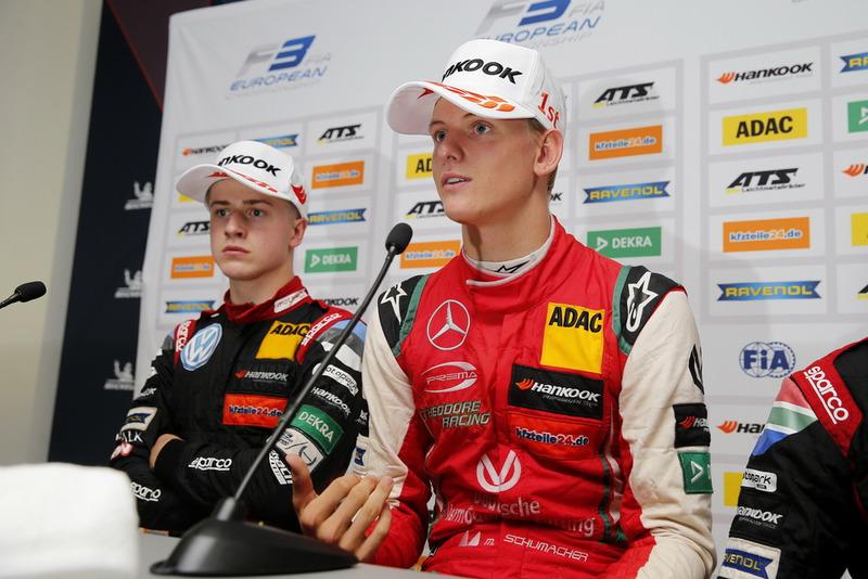 Conférence de presse : Mick Schumacher, PREMA Theodore Racing Dallara F317 - Mercedes-Benz