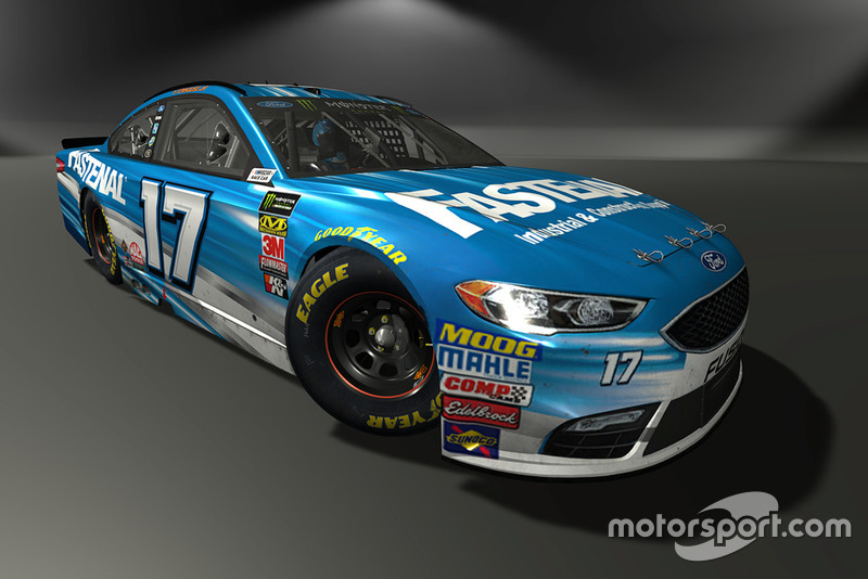 Ricky Stenhouse Jr., Roush Fenway Racing, Ford Fusion - NASCAR Heat 3 skin