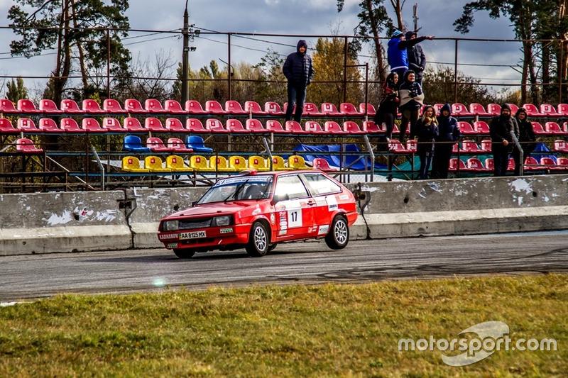 Олександр Карнаков - гонка