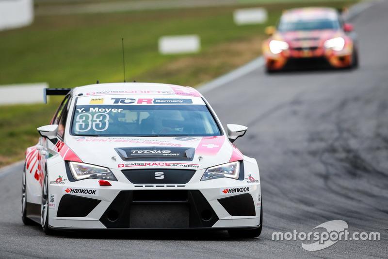 Yves Meyer, TOPCAR Sport, SEAT Leon TCR